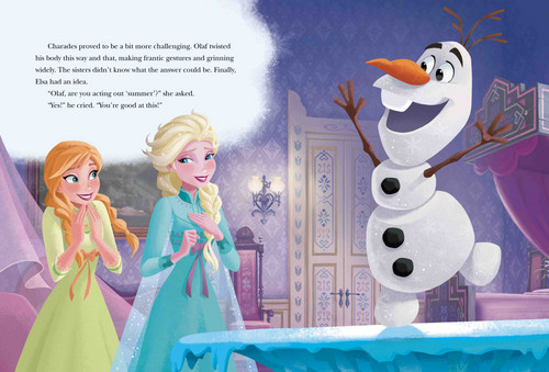 elsa e ana wallpaper entitled Frozen - Uma Aventura Congelante 5 minuto Stories Book