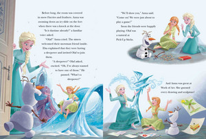 Frozen 5 dakika Stories Book