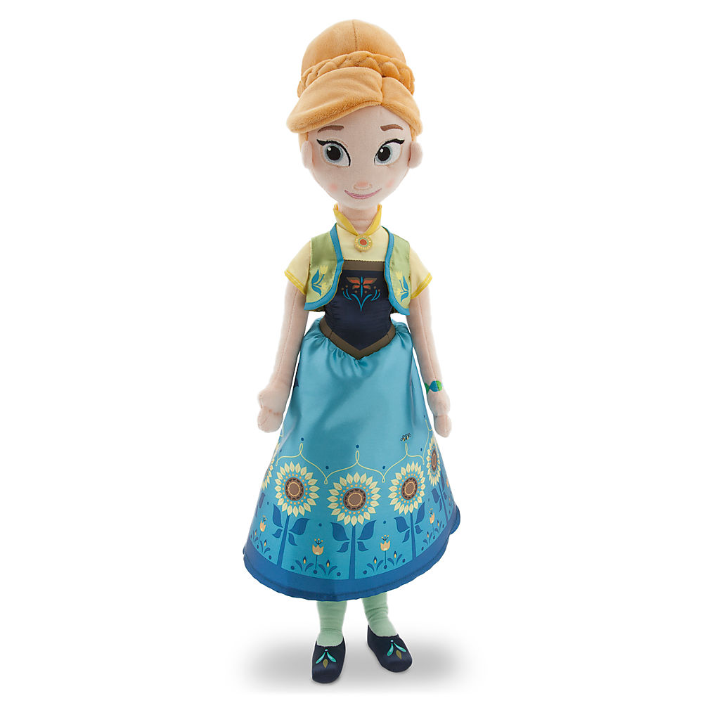 Frozen Fever Anna Plush Doll 20""
