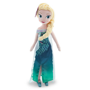 Frozen Fever Elsa Plush Doll 20""