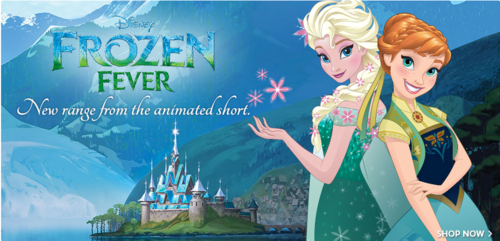 Frozen wallpaper probably containing anime entitled Frozen Fever Elsa and Anna