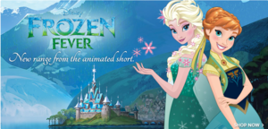 アナと雪の女王 Fever Elsa and Anna