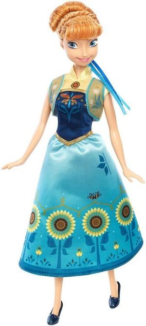 Frozen - Uma Aventura Congelante Fever Mattel Anna Doll
