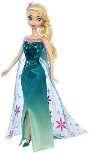Frozen Fever Mattel Elsa Doll