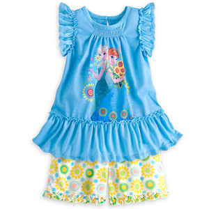 nagyelo Fever Short Sleep Set for Girls