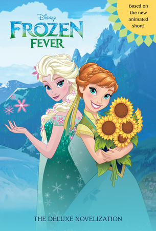 Princess Anna achtergrond with anime called Frozen Fever: The Deluxe Novelization