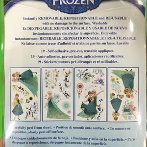 Frozen Fever wall decals