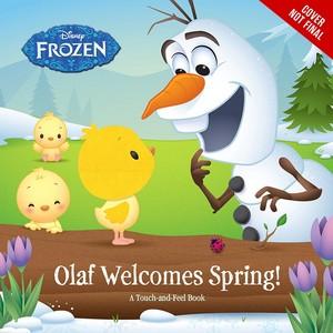 《冰雪奇缘》 - Olaf Welcomes Spring Book
