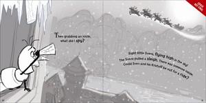 《冰雪奇缘》 - Olaf's Night Before 圣诞节 Book