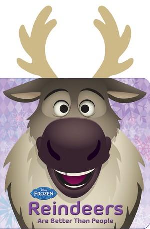 《冰雪奇缘》 - Reindeers Are Better Than People Book
