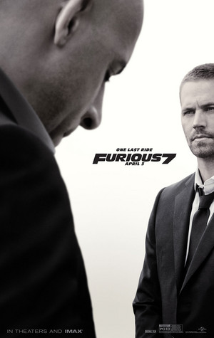 Furious 7 Poster - One Last Ride