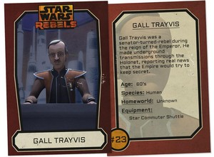 Gall Traybis trading Card