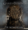 Game of Thrones: In Memoriam Book - game-of-thrones photo