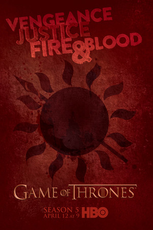 Game of Thrones Season 5 Dorne Poster