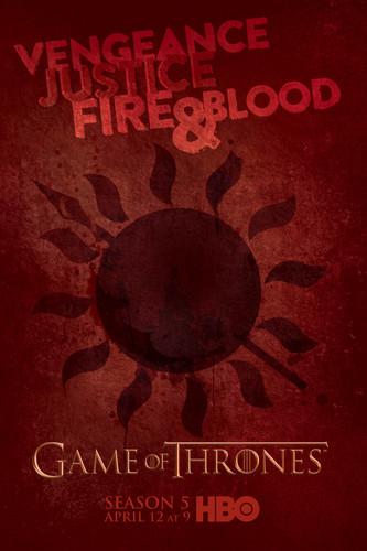 Game of Thrones wallpaper entitled Game of Thrones Season 5 Dorne Poster