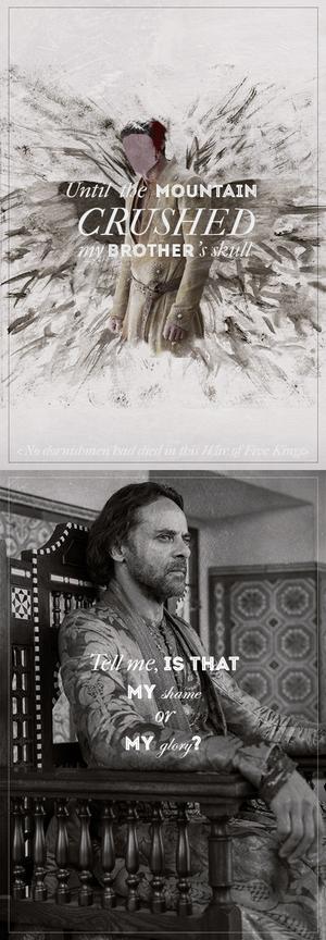 Doran & Oberyn Martell