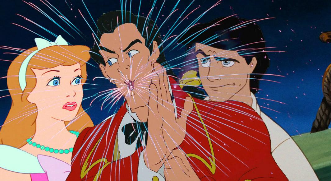 Gaston spits Fireworks!