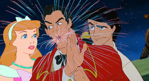 disney crossover achtergrond probably containing anime entitled Gaston spits Fireworks!