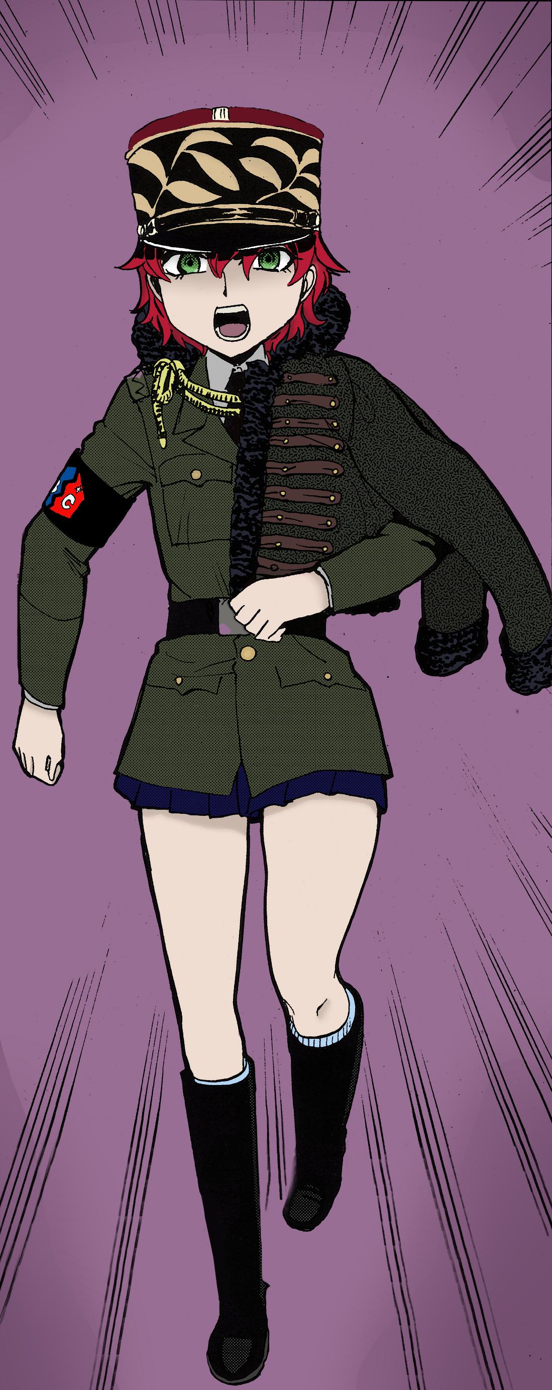 Girls und blindado, panzer espargos