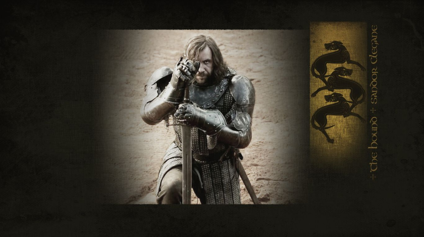 game of thrones got the hound wallpaper 1366x768