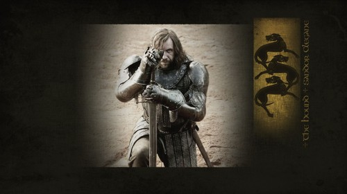 Game of Thrones wallpaper entitled GoT - The Hound - Wallpaper 1366x768