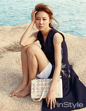 Gong Hyo Jin In Vietnam For InStyle Korea's March 2015 Edition