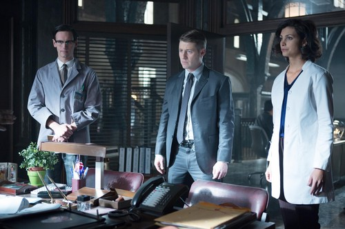 Gotham wallpaper containing a business suit called Gotham - Episode 1.16 - The Blind Fortune Teller