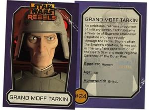 Grand Moff Tarkin Trading Card