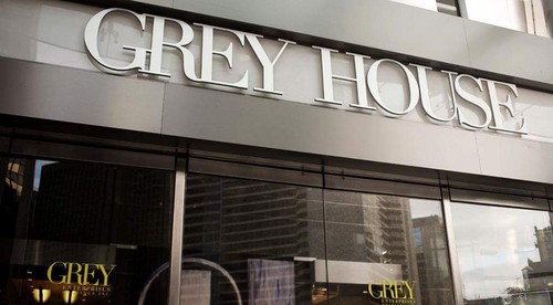 Fifty Shades-Trilogie Hintergrund with a speiselokal, diner called Grey House