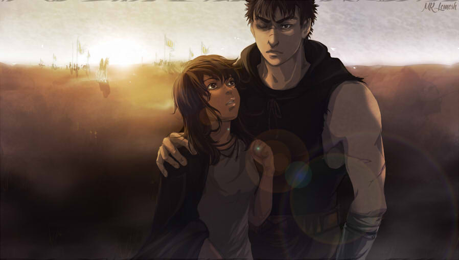 Guts and Casca.