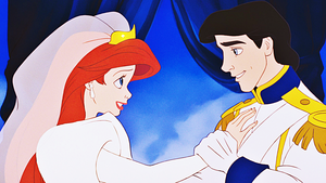 HD Blu-Ray 迪士尼 Princess Screencaps - Princess Ariel & Prince Eric
