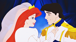 HD Blu-Ray Дисней Princess Screencaps - Princess Ariel & Prince Eric