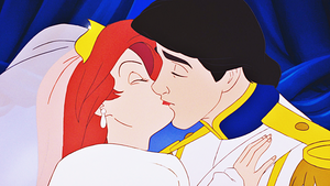 HD Blu-Ray 디즈니 Princess Screencaps - Princess Ariel & Prince Eric