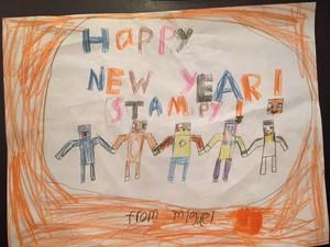 Happy New Jahr Stampy