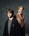 Harry and Gilderoy Lockheart