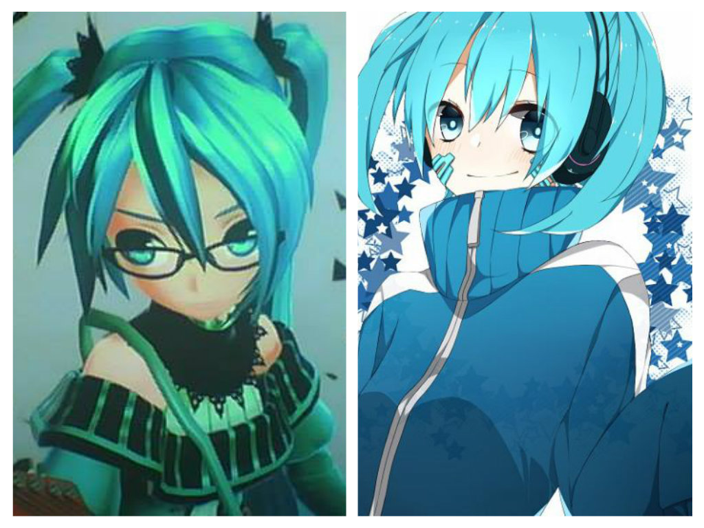 Anime Images Hatsune Miku Ene Enomoto Takane Crossover HD Wallpaper And Background Photos
