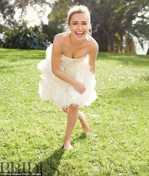 Hayden Brides photoshoot