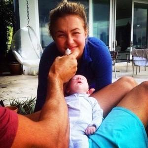 Hayden and her daughter