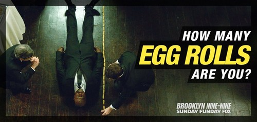 Brooklyn Nine-Nine 壁纸 probably with 日本动漫 titled Height in Egg Rolls