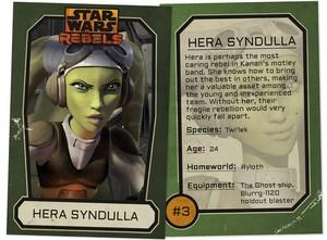 Hera Syndulla Trading Card