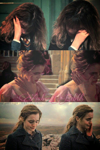 Hermione Granger crying
