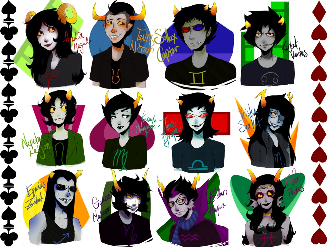 Bunnythedurp Images Homestuck Characters Hd Wallpaper And