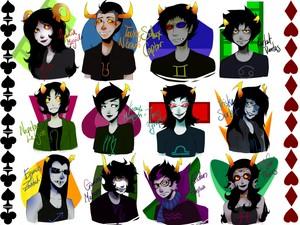 Homestuck characters