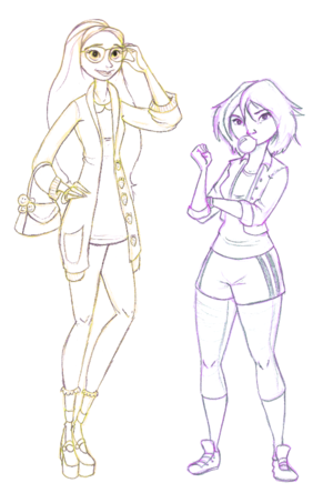 Honey citroen and GoGo Tomago