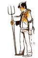 Horns Fan Art Drawing (Fb.com/DanielJacobRadcliffefanClub) - daniel-radcliffe fan art