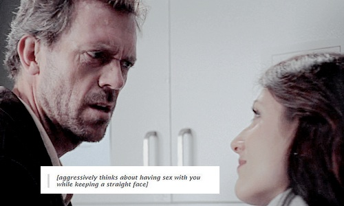 House M.D. wallpaper probably with a portrait called Huddy | Tumblr Text Post