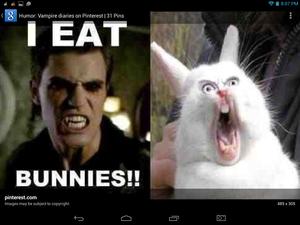 I Eat BUNNIES