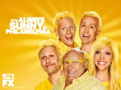 It's Always Sunny in Philadelphia wallpaper possibly with a portrait called IASIP Wallpaper