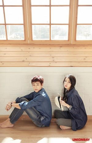 아이유 and Lee Hyun Woo for UnionBay