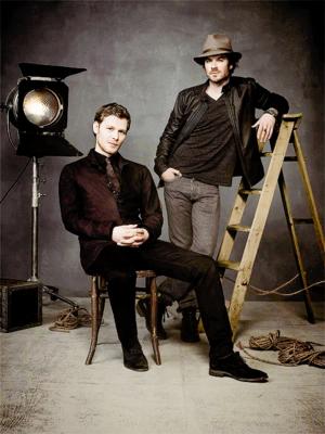 Ian Somerhalder and Joseph morgan